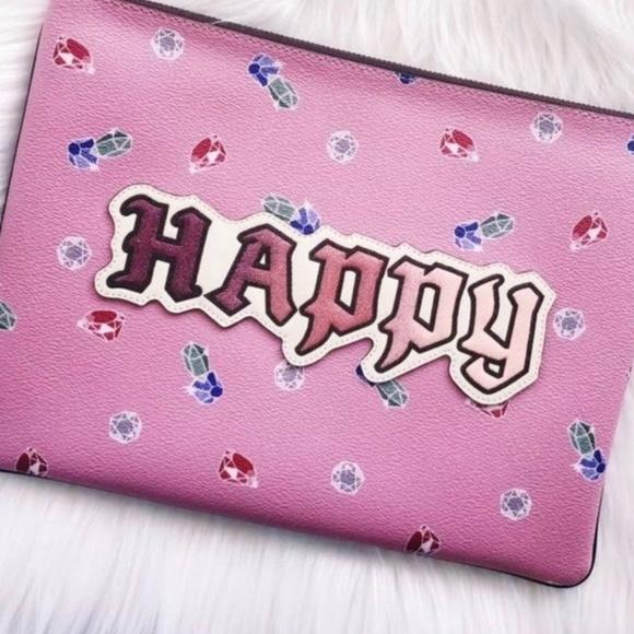 Coach Handbags - Coach x Snow White Happy Clutch NWT